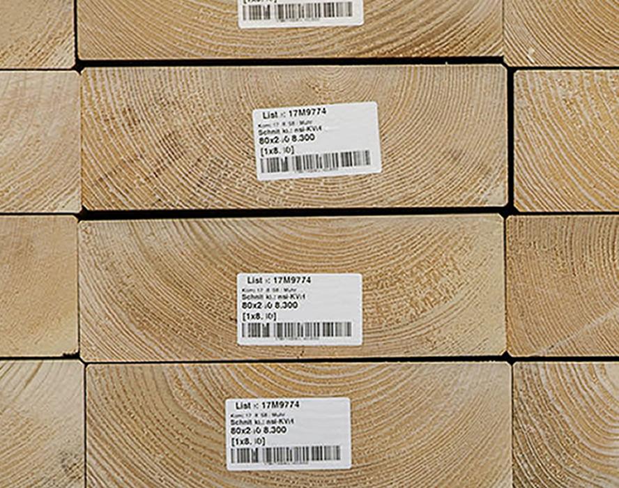 Agence Boinet : fournisseur de Bois massif aboutés KVH en Epicéa ou Douglas pour toute la France