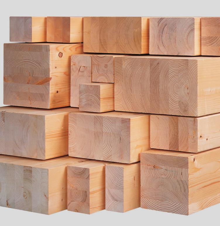 Fournisseur de bois lamellé collé sur demande en France
